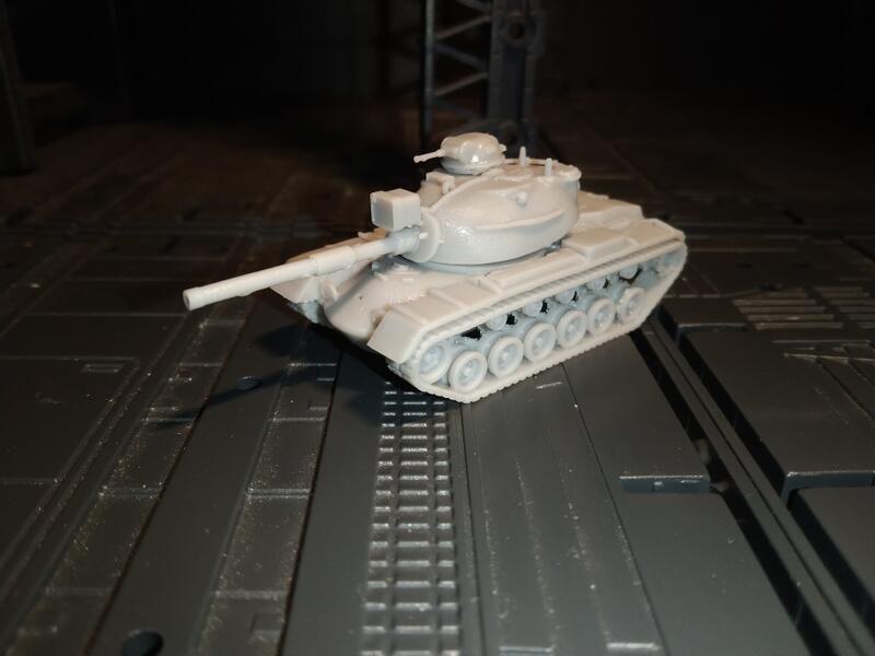 ✩某王城✩ 3D列印套件 178 1/144 M48A5 A3機槍塔 探照燈版