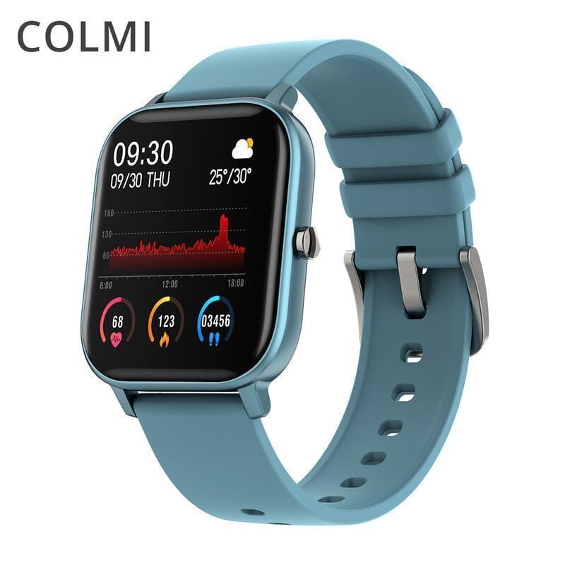 【新品推薦】COLMI P8智能手錶 Smart watch 1.4全觸運動心率防水血氧血壓計步