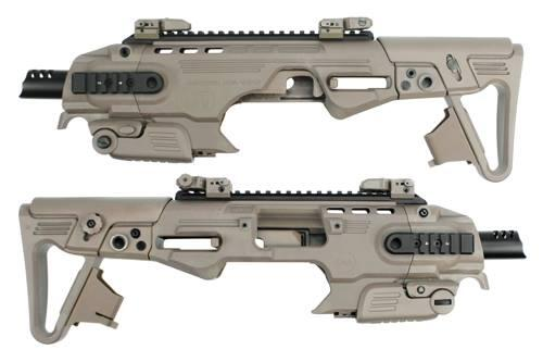 【ALPHA網路最低價】CAA Roni Kit M92 衝鋒槍套件 真槍廠授權刻字 沙色