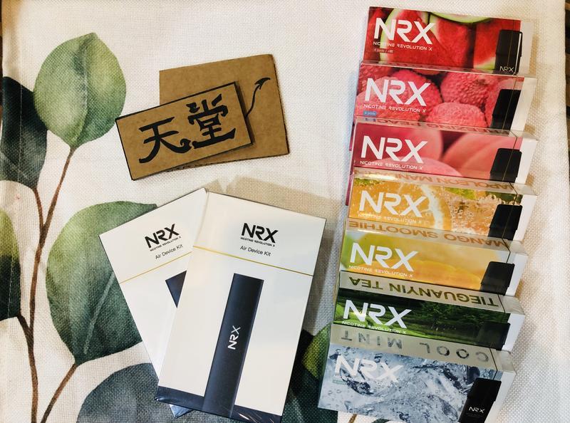 天堂蒸氣現貨♫特價特價!秒發NRX air NRX 3代主機 尼威煙彈 四入陶瓷芯 現貨供應中