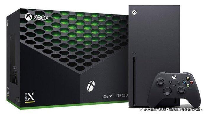 微軟 XBOX SERIES X 1TB SSD 次世代 主機 4K 120FPS 台灣公司貨【四張犁電玩】