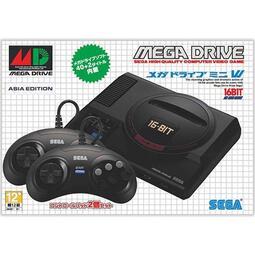 SEGA 主機 台灣公司貨 MEGA DRIVE Mini 復刻版 迷你主機 亞洲版 內建42款遊戲【四張犁電玩】