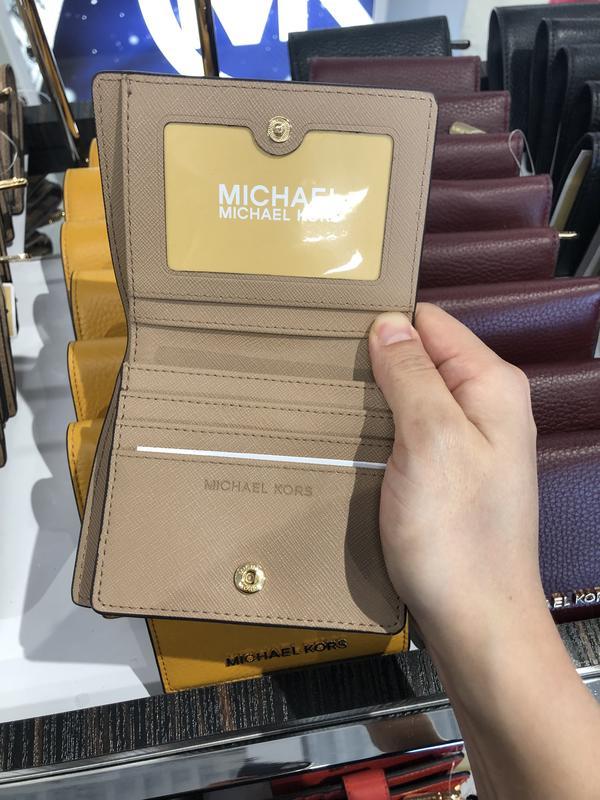 [A&H's]mk mickael kors 女款 錢包 短夾 皮夾 扣子 多色 禮物 聖誕節 加拿大 代買 代購