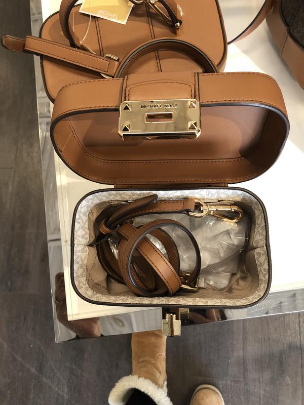 [A&H's]mk mickael kors 女款 女用 圓筒包 珠寶盒 手提包 肩背 禮物 聖誕節 加拿大 代買 代購