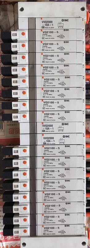 SMC VVQ2000-10A-1、VQ2100-5