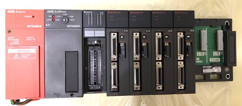 A1S61PN、A2SHCPU、A1SH42、A1SD75P2-S3、A1S38B