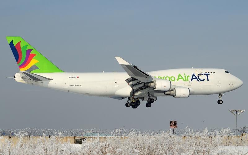 AJ MODEL 預購! JC Wings 1/400 ACT Airlines B747-400 TC-ACG