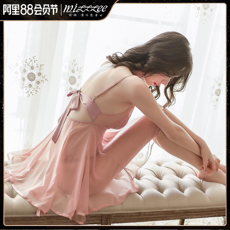 情趣內衣騷性感薄紗透明睡衣激情套裝超騷挑逗誘惑床上透視睡裙女