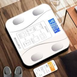 ⛄台灣現貨⛄可手機連接 USB充電 電子體重計 體重體脂計 體脂秤  充電 多功能 智能體脂稱 專屬APP