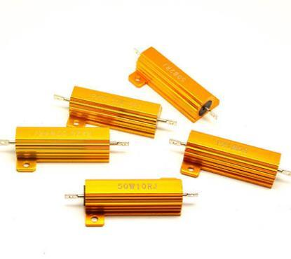 電子零件 可開發票  黃金鋁殼電阻RX24-5W10W25W50W100W200W300W 1RΩ2R4R6R8R20K