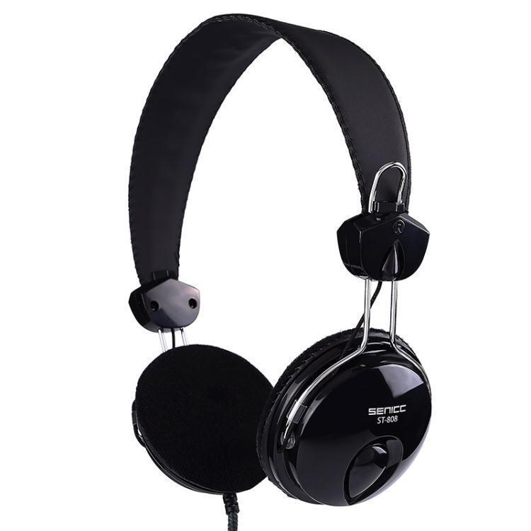 電腦耳機 聲麗 ST-808臺式電腦耳機手機全民k歌頭戴式耳麥錄音專用帶麥克風