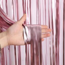 快速出貨 婚慶用品結婚婚慶用品雨絲簾裝飾背景墻婚房浪漫婚禮新房布置氣球彩帶絲帶