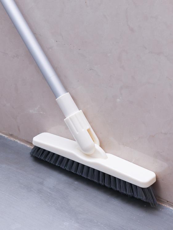 長柄硬毛縫隙刷衛生間浴室廚房地板刷瓷磚地磚墻角無死角清潔神器【可開發票】