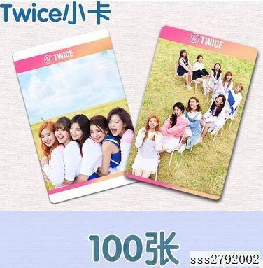 Twice小卡100張!TT KNOCK KNOCK不同款照片卡片LOMO卡送卡冊bk~幸福尤物~
