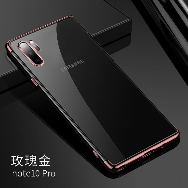 三星note10+手機殼5g透明note10保護套硅膠全包邊防摔軟殼散熱簡熱賣