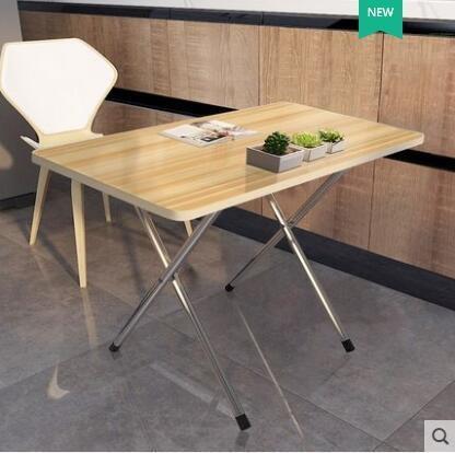 摺疊桌小四方桌子摺疊簡易正方形4餐桌家用2宿舍飯桌便攜擺攤戶外ATF 沸點奇跡