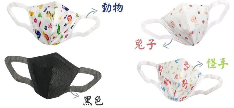 【永猷】雙鋼印 醫療級 兒童立體醫療口罩50入/盒 大童口罩 幼童口罩 顯瘦 台灣製 三層不織布防塵口罩