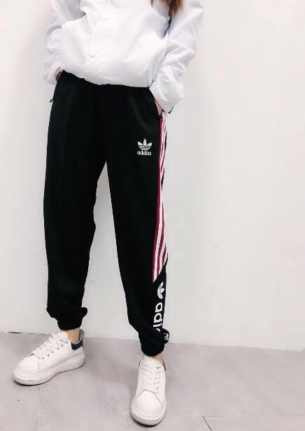 【千品】Adidas 愛迪達 三葉草 夏日薄款 運動褲 運動長褲 休閒長褲 薄款長褲 直筒 束口褲9596053