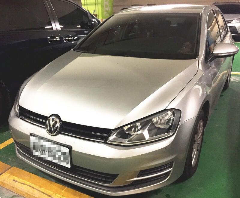 VW GOLF 2016 里程實跑2.8萬 銀灰 認證車 中古車 超值購