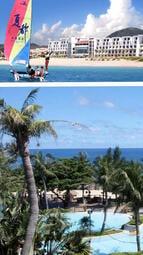 夏都沙灘酒店(山景家庭房A)兩大兩幼~含兩客早餐及晚餐,限時週五優惠價$4599