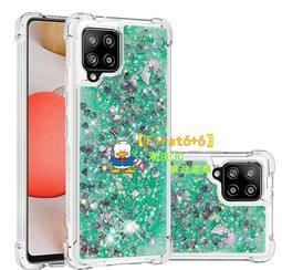 三星 Galaxy A42 5G A31 手機殼 液體 流沙 閃粉 星星 透明 四角 氣囊 矽膠 軟殼 全包 防摔 時尚