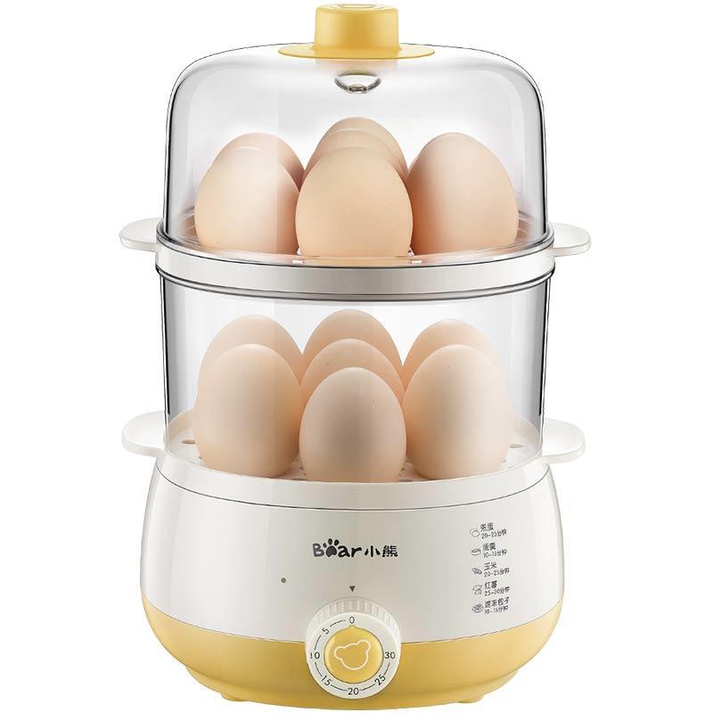 小熊蒸雞蛋器煮蛋器電子蒸鍋蒸菜機寶寶嬰兒蒸蛋羹器小蒸寶包子機