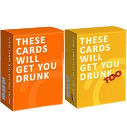 現貨 派對聚會必備炒熱氣氛 喝酒專用遊戲牌🍻🃏ㄧThe Cards Will Get You Drunk