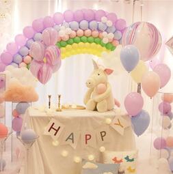 現貨在台 活動派對DIY佈置🎈🌹✨歡樂節慶 馬卡龍色糖果氣球 生日派對求婚告白浪漫佈置