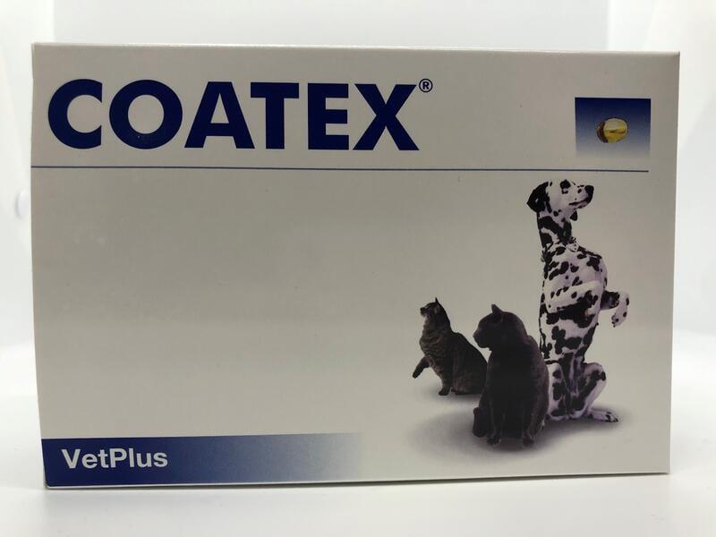 ~~台灣總代理公司貨~~英國 VetPlus 【COATEX】 膚寶軟膠囊 60粒膠囊
