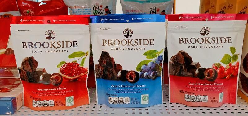 加拿大 Brookside  紅石榴 / 藍莓 黑巧克力 198g
