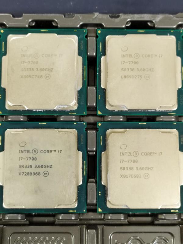 INTEL i7-7700 i7 7700 正式版 CPU 處理器 拆機良品 保固120天 非 6700 8700
