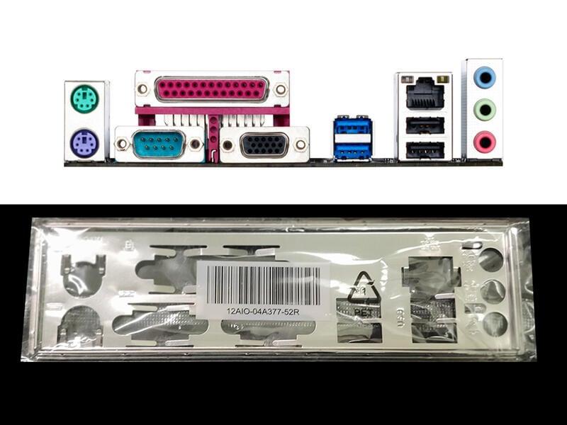 GA 技嘉 H81M-DS2、H81M DS2、H81-D3、H81 D3 全新 原裝 後檔板 後檔片
