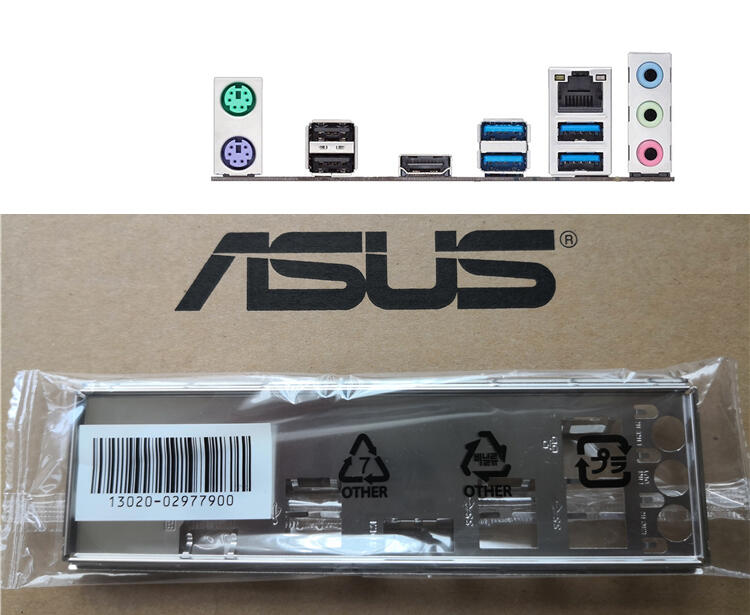 ASUS 華碩 B250 MINING EXPERT 全新 原裝 後檔板 後檔片