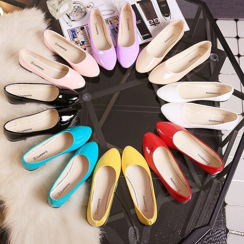 2020夏季新款韓版單鞋平底平跟時尚百搭套腳淺口尖頭休閑學生女鞋