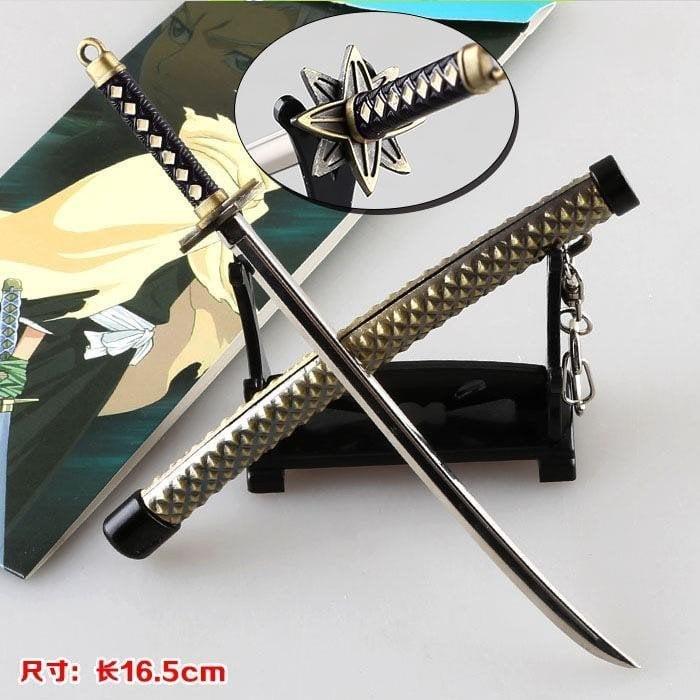 【重磅超質感】死神 小白冬獅郎斬魄刀 武器模型掛件 金屬 動漫周邊