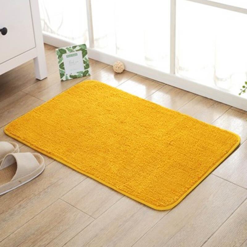 家用金黃色門口進門地墊臥室門廳大紅色喜慶
