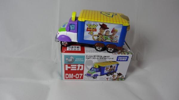 禮物 獎品 TOMICA 多美 x Disney玩具總動員4宣傳車 DM-07 玩具總動員 TOMICA 小汽車