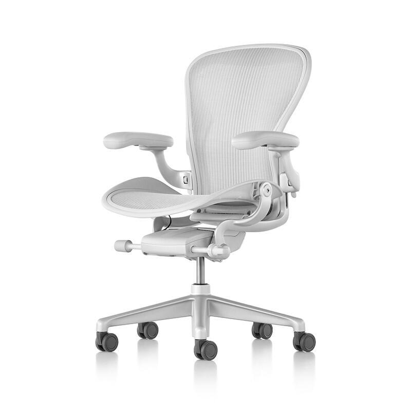 【免運】Herman Miller Aeron 2.0 sayl礦白色 旗艦版 全功能 4D 二代人體工學椅辦公椅電腦椅