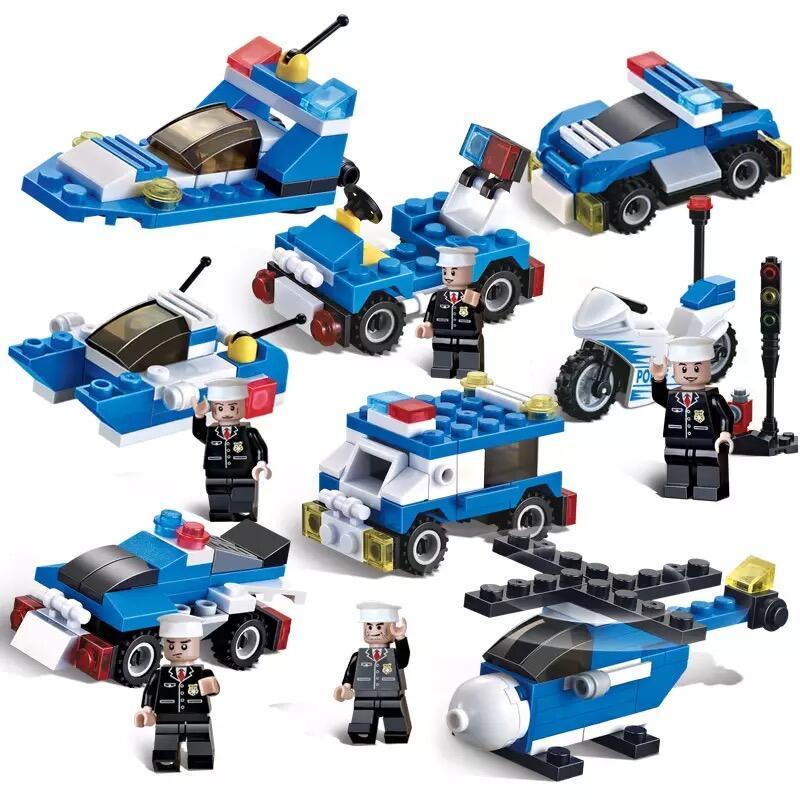 樂高積木男孩子兒童益智小顆粒拼裝玩具盒裝智力拼圖拼插汽車模型