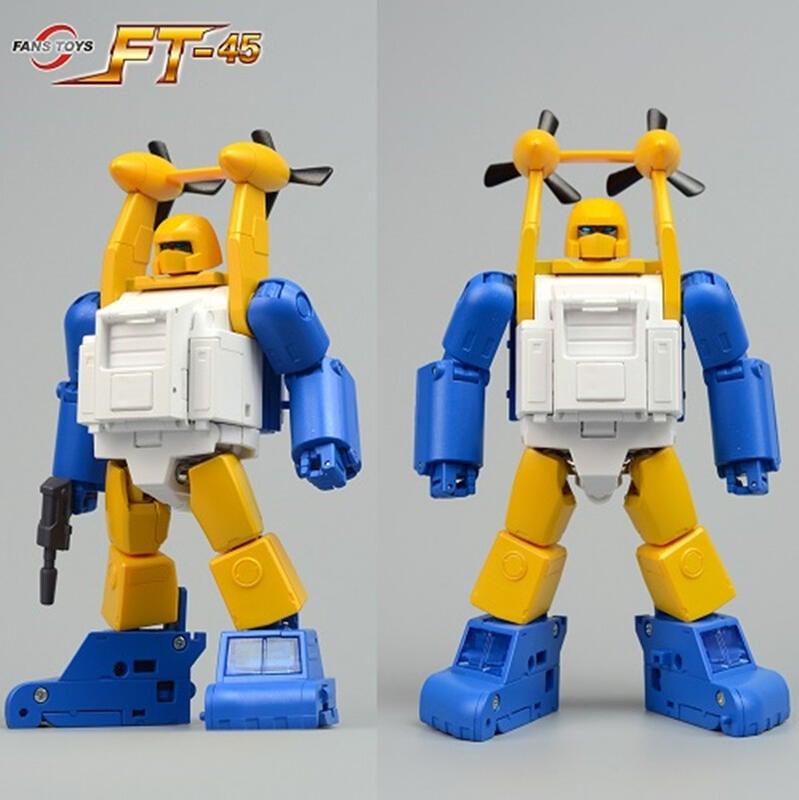 FansToys FT-45 氣墊船 浪花 變形系列 ft45 2.0 G1動畫 玩具金剛