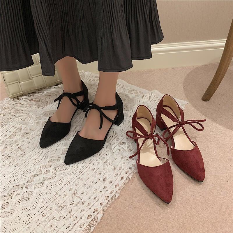 高跟鞋女2021新款夏季ins潮仙女風小清新粗跟百搭網紅時裝涼鞋女