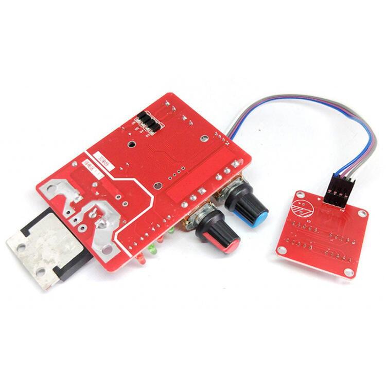 超低價熱賣NY-D01點焊機控制板調節時間電流數碼顯示單片機點焊機diy控制板