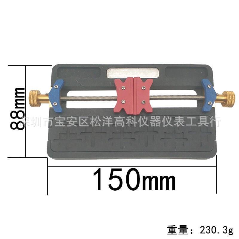 超低價熱賣多功能維修夾具雙承軸耐高溫手機主板夾具BGA芯片定位平台通用型