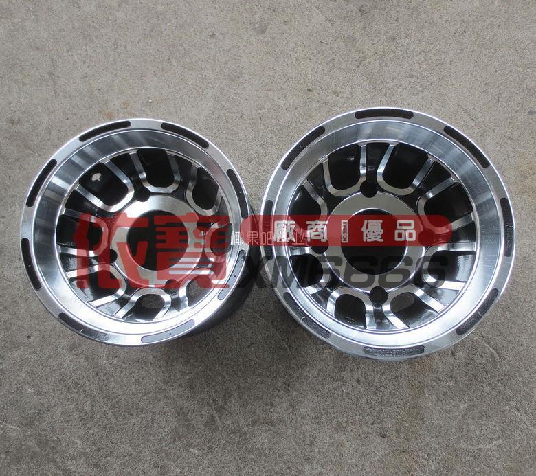 【依寶改裝】卡丁車配件 大/小公牛沙灘車19x7-8 18x9.50-8寸輪胎鋁輪轂 輪圈 露天拍賣