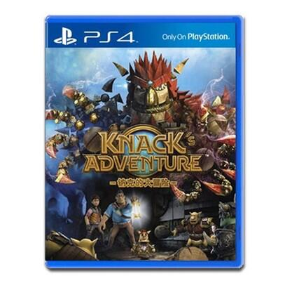 【好運新品】PS4正版游戲二手   納克的大冒險 Knack 納克 克拉克   中文
