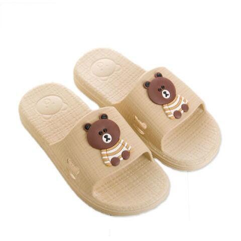 夏天中大兒童拖鞋軟底大男孩拖鞋防滑居家浴室可愛小孩洗澡拖鞋