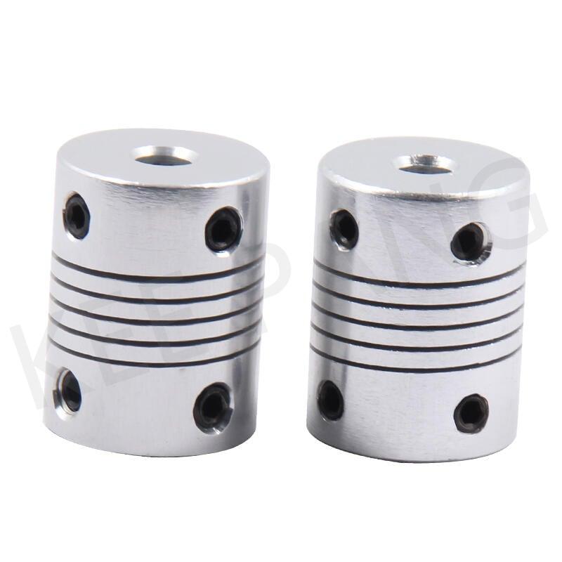 (一站配單)編碼器鋁合金彈性步進電機聯軸器小 3D打印機配件馬達連軸器 QP