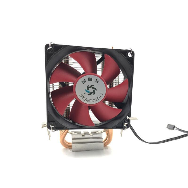 六月風冰魔塔式雙銅管電腦CPU風扇臺式機主板電腦CPU散熱器靜音