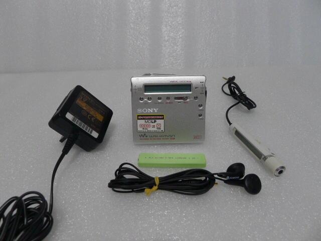 sony索尼MZ-R900 MD隨身聽播放器四倍錄音金屬外殼