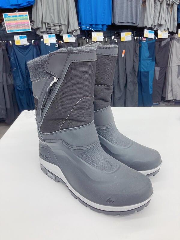 護具配件◆現貨迪卡儂雪地靴靴鞋雪地女戶外男防滑防水嚴寒棉鞋登山冬加絨大底QU